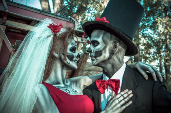 costumi di carnevale originali per coppia adulti