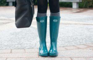 stivali da pioggia eleganti e raffinati
