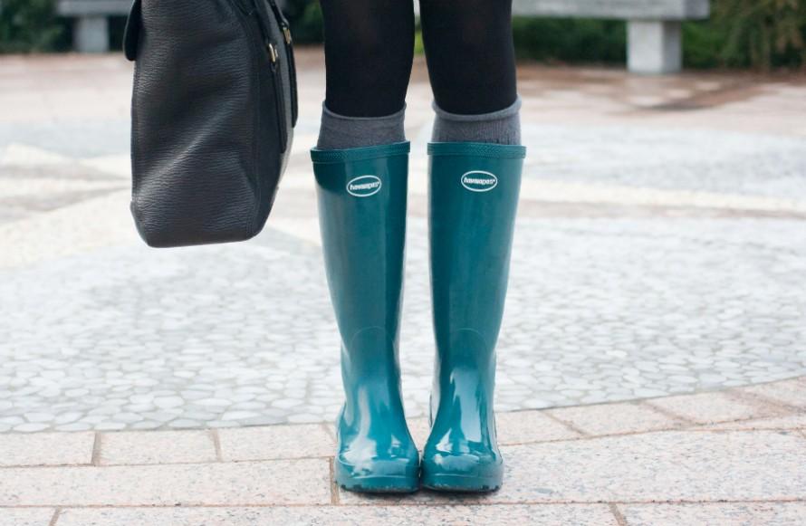 Stivali per la pioggia: consigli utili