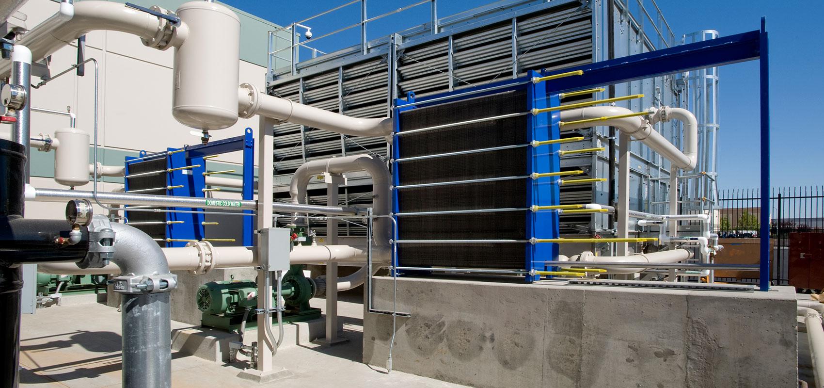 Gli scambiatori di calore e i raffreddatori industriali