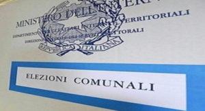 Risultati elezioni comunali 11 giugno