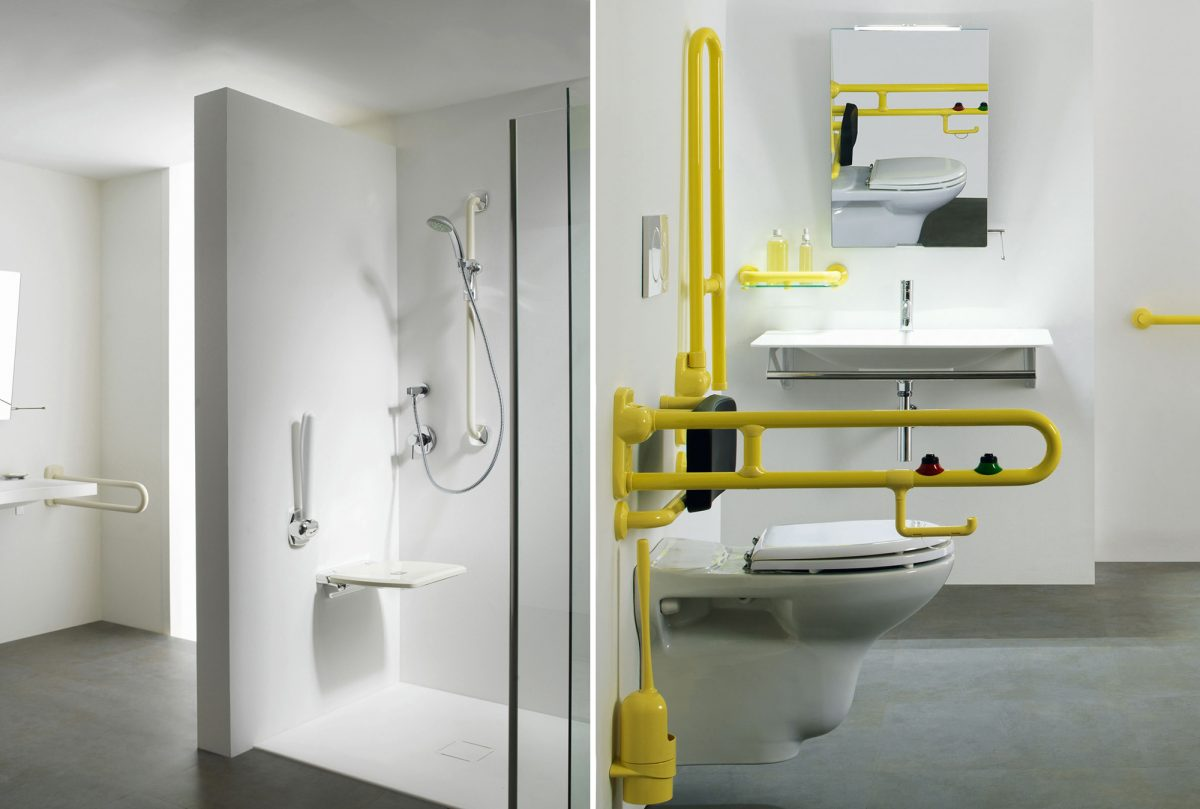 doccia anziani e disabili