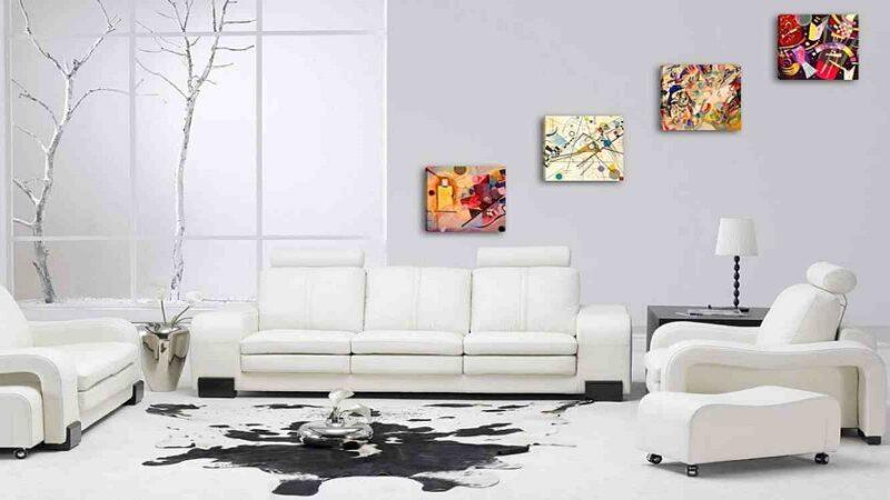 Come arredare la propria casa con quadri moderni