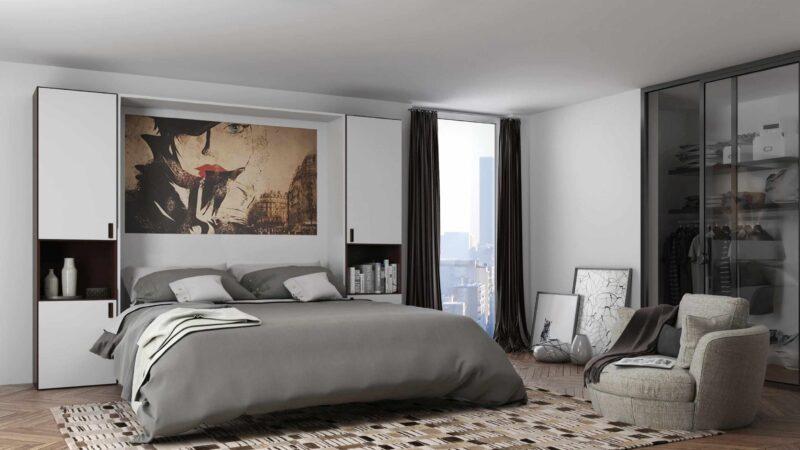 Risparmiare spazio con il letto a scomparsa